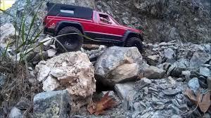 1988 jeep comanche sport truck jeep comanche mj off road through mud rocks and water youtube