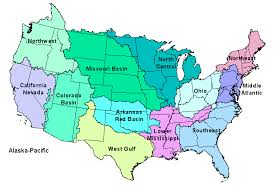 america map with rivers national weather service advanced hydrologic prediction service