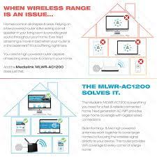 amazon com medialink ac1200 wireless gigabit router gigabit