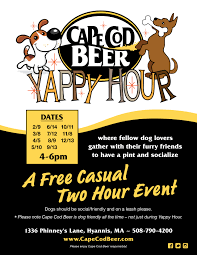 yappy hour 2016 dates cape cod beer cape cod beer