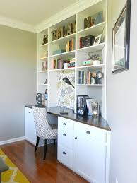 How To Build In Bookshelves - diy built in bookcase with desk thesecretconsul com