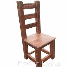 moss high back reclaimed wood dining chair rustic dining tables