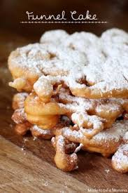 funnel cakes recipe cake recipes and food