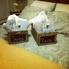 overnight gift baskets best 25 guest welcome baskets ideas on guest basket