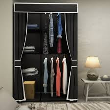 bedroom black portable wardrobe organizer with shelves and black portable wardrobe organizer with shelves and curtain for interesting bedroom corner organizer decor