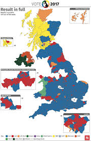 Uk Election Map by General Election 2017 Break Down Of The Results By Map