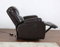 Chair And A Half Recliner Leather Furniture Find Your Maximum Comfort With Perfect Power Recliner