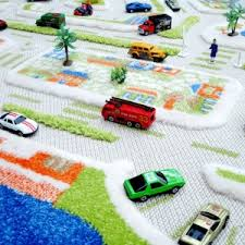 toy car city road play rug christmas wishes gifts
