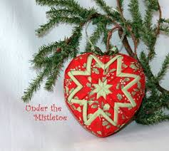 Quilted Christmas Ornaments To Make - 983 best be still my heart images on pinterest heart