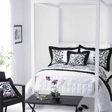 bedroom mesmerizing popular black and white and red bedroom