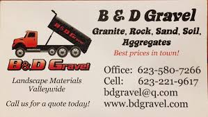 Gravel Driveway Calculator Fabulous And B U0026 D Gravel 12 Reviews Building Supplies Phoenix Az