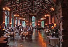 Maximum Comfort In Yosemite - The ahwahnee dining room