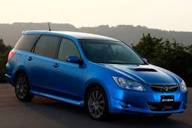 minivans top speed subaru exiga 7 seater minivan officially unveiled