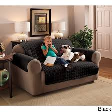 Black Microfiber Couch And Loveseat Innovative Textile Solutions Microfiber Furniture Protector Sofa