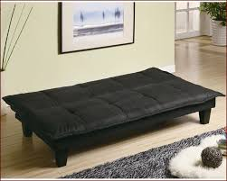 Convertible Sofa Beds Furniture Casual Padded Convertible Sofa Bed In Black Co300238