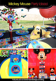 mickey mouse party ideas character week mickey mouse party ideas soiree event design