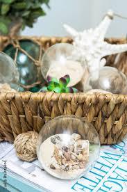 diy shell decor coastal spheres consumer crafts