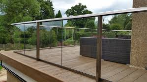 Glass Banister Uk Glass Balustrade Decking Composite Decking Glass Balcony