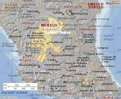 map central mexico tom in the city of gold