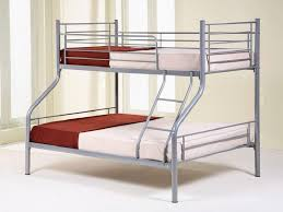DELIVERY IS FREETriple Bunk Bed In Silver Colour Single Top - Double top bunk bed