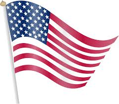 american flag clipart transparent png pencil and in color