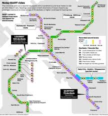 Dublin Bart Map Noise On Bart How Bad Is It And Is It Harmful Sfgate