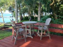 furniture ideas composite patio furniture with red wooden deck