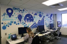 White Office Decorating Ideas Office Popular Office Art Work With Blue Color Concept Ideas