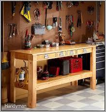 Woodworking Garage Cabinets Rolling Work Bench Garage Cabinets Plans Home Design Ideas