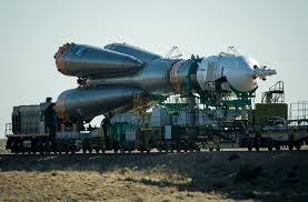 soyuz to the launch pad nasa