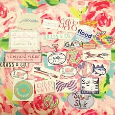 preppy decals preppy stickers preppy preppy stickers southern