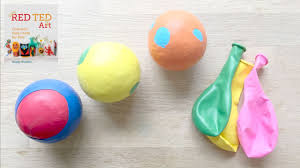 how to make balloon juggling balls stress balls