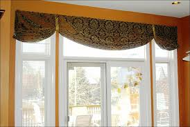 Contemporary Kitchen Curtains And Valances by Kitchen Curtain Patterns For Kitchen Windows Window Treatments