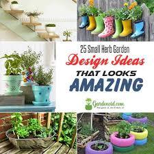 Herb Garden Design Ideas 25 Small Herb Garden Design Ideas That Looks Amazing Gardenoid
