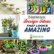 Small Herb Garden Ideas 25 Small Herb Garden Design Ideas That Looks Amazing Gardenoid
