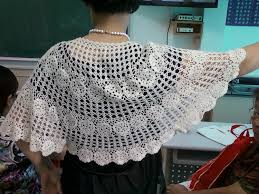 Handmade Poncho - crochet shawl and poncho for make handmade crochet