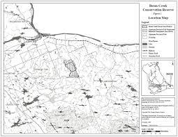 Algonquin Map Boom Creek Conservation Reserve Management Statement Ontario Ca