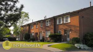 brampton townhomes for rent video 145 balmoral dr youtube