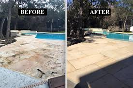 Moss Cleaner For Patios Houston Limestone Sealers U0026 Cleaning Service Lueders Austin