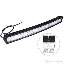 curved marine led light bar 33inch 180w super bright led off road light bar cree curved led work