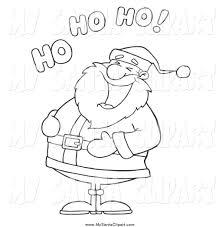 free black santa clipart 31