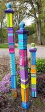 25 best ideas about sensory garden on pinterest recycled garden garden totem garden art garden sculpture sculptural totem yard art colorful totem lawn art single medium totem