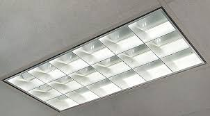 Recessed Fluorescent Lighting Fixtures Top Kitchen Etl Listed Led Light Fixture With Parabolic Louver