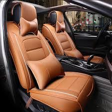 housses de si es voiture avant arrière spécial housse de siège de voiture en cuir pour