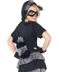 Raccoon Halloween Costumes Rascal Raccoon Kids Costume Leg Avenue C48173