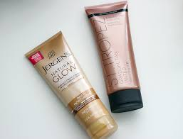 face tanning l reviews save or splurge self tanning lotion comparison jergens natural