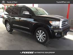 toyota sequoia 2016 used toyota sequoia limited at toyota of pharr serving