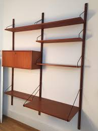Modern Modular Bookcase Modular Shelving Units Thru Block Wall Mounted Modular Shelving
