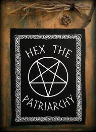 hex the patriarchy back patch feminist patch punk