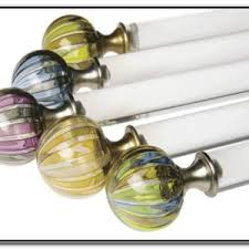 Finials For Curtain Rod Curtain Rod Finials Finials Burnt Gold Drapery Rod Finials